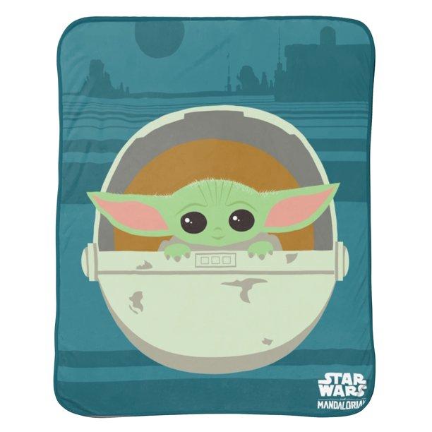 Baby Yoda Blankets