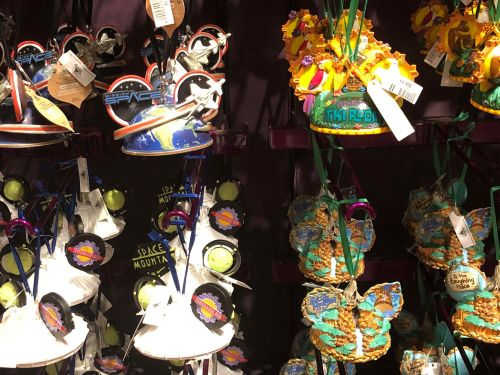 Disney Attraction Ear Hat Ornaments