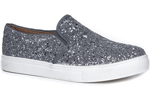 Sparkly Slip-On Sneakers