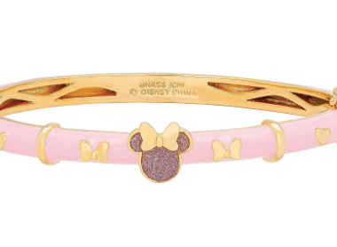 Pink Minnie Bangle Bracelet