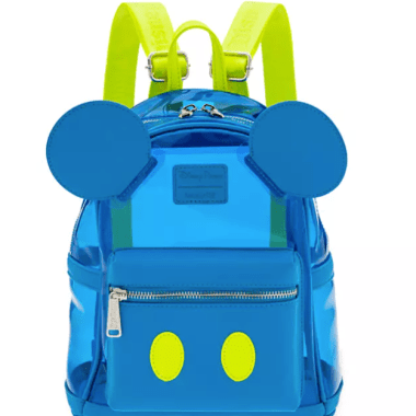 Neon Mickey Loungefly Mini Backpack