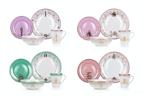 Disney Princess Dinnerware Collection