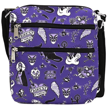 Villains Loungefly Passport Crossbody