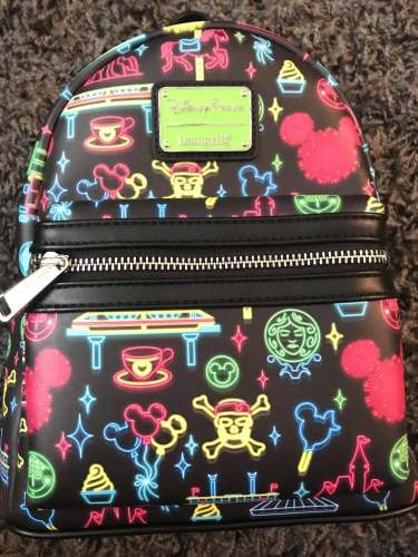 Neon Parks Loungefly Mini Backpack