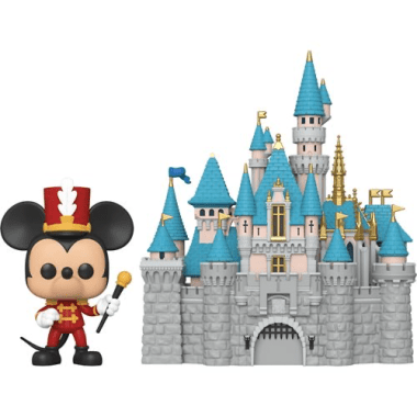 Disneyland 65th Anniversary Castle and Mickey Pop! Town