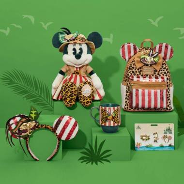 Jungle Cruise Minnie The Main Attraction Collection