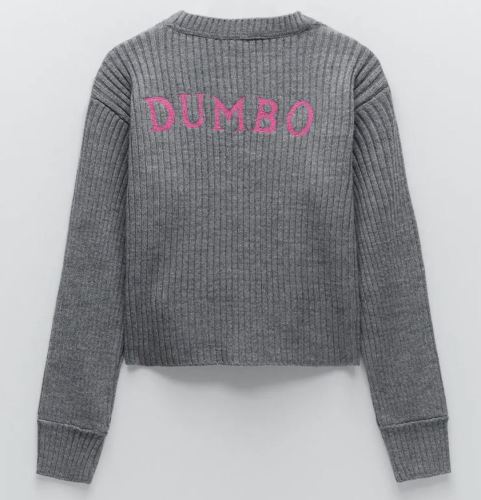 Zara Dumbo Sweatshirt Back