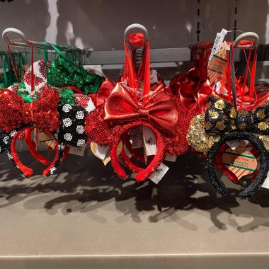 Minnie Ear Headband Ornaments