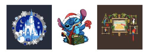 Disney Holiday Tees