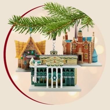 Disney Attractions Ornaments