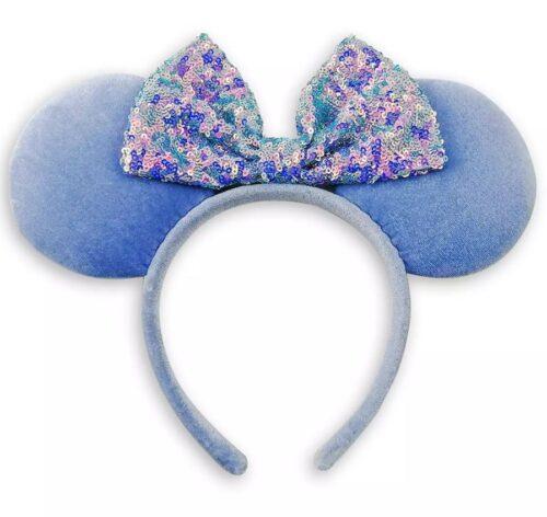 Cornflower Blue Minnie Ears