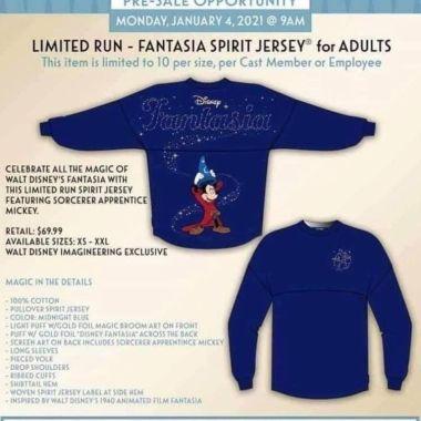 Fantasia Spirit Jersey