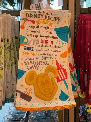 Disney Tea Towels and Aprons