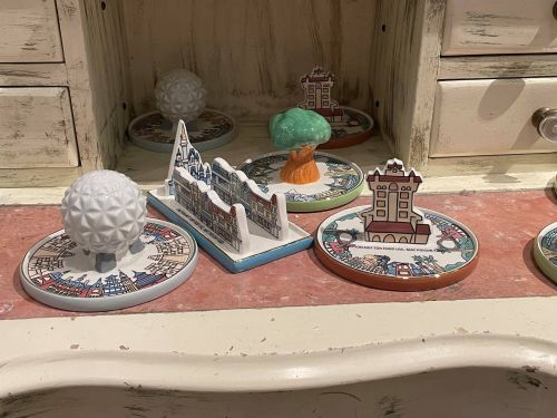 Theme Park Jewelry Dishes