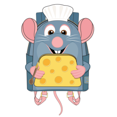 Chef Remy Backpack and wallet