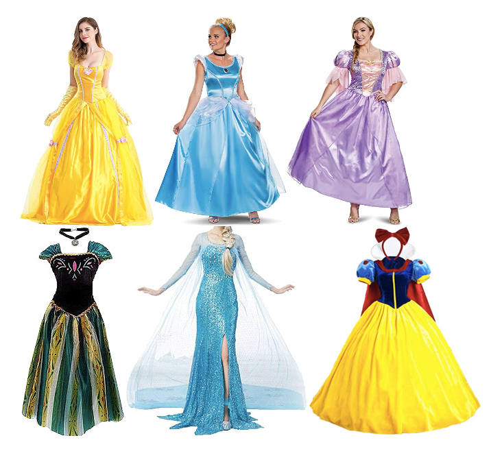 Princess Costumes for Adults