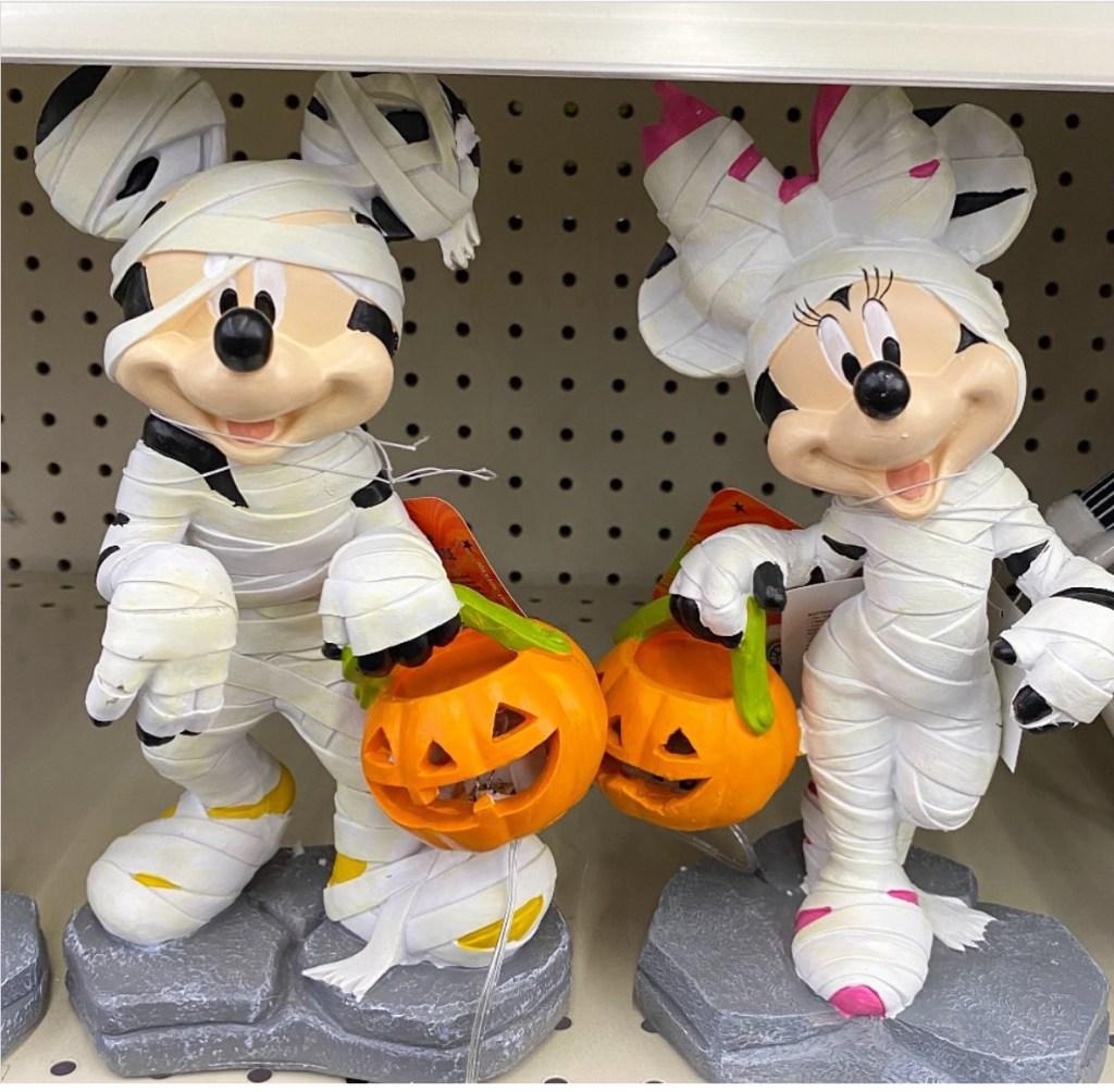 Mickey and Minnie Mummy Decorations