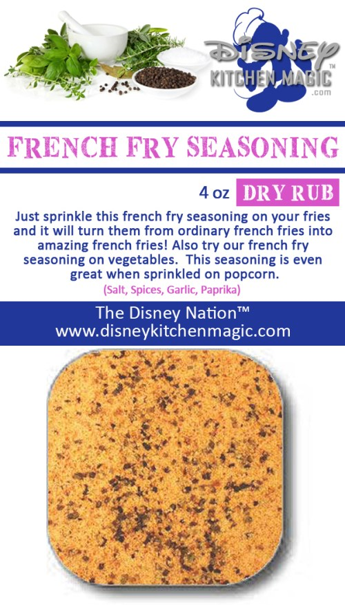 french fry seasoning spices popcorn vegetables