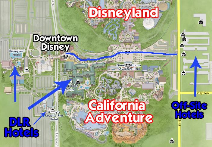 The Logistics Of Disneyland Disneyland Daily