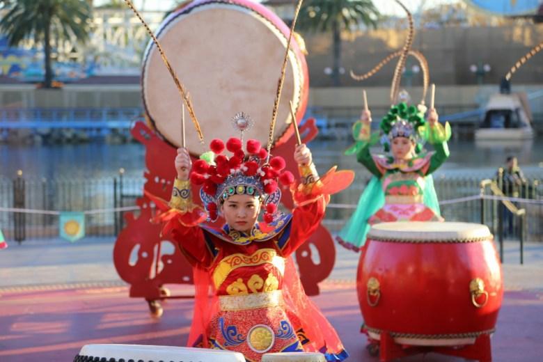Artistas del Año Nuevo Lunar en Disney California Adventure