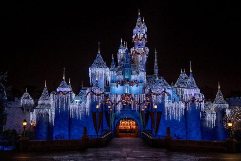 Espectáculos de Navidad en Disneylandia (Castillo de la Bella Durmiente)