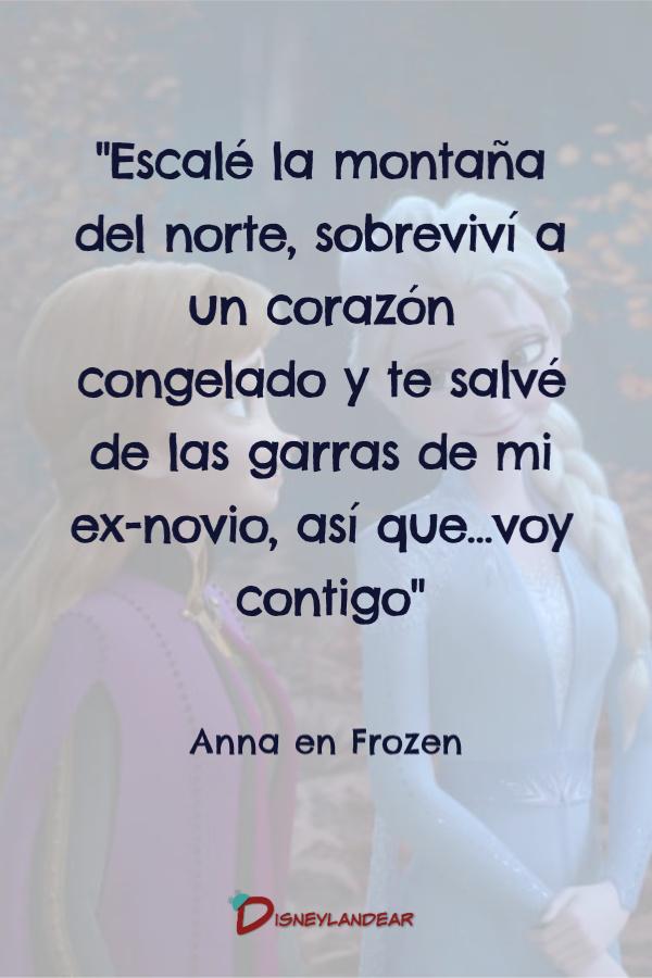 frase de Anna de Frozen 2