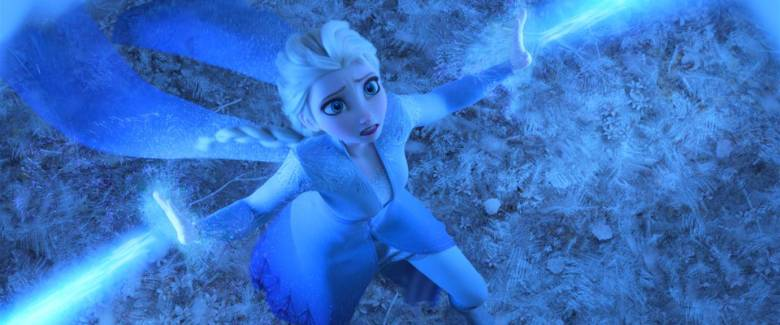 Elsa escena en Frozen