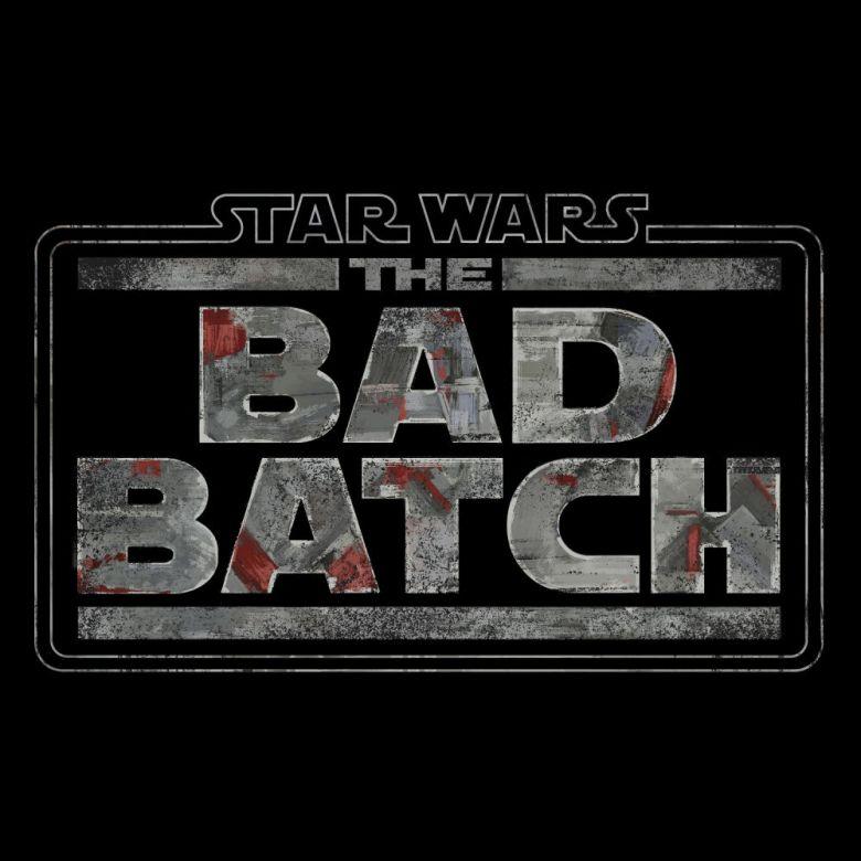 Logo de The Bad Batch la serie de Star Wars en Disney+