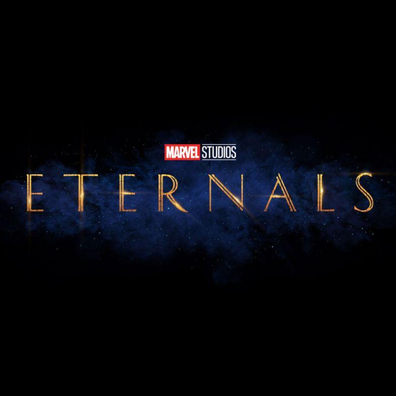 Logo de la nueva serie Eternals de Marvel