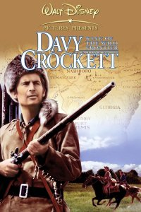 """Poster for the movie """"Davy Crockett, King of the Wild Frontier"""""""