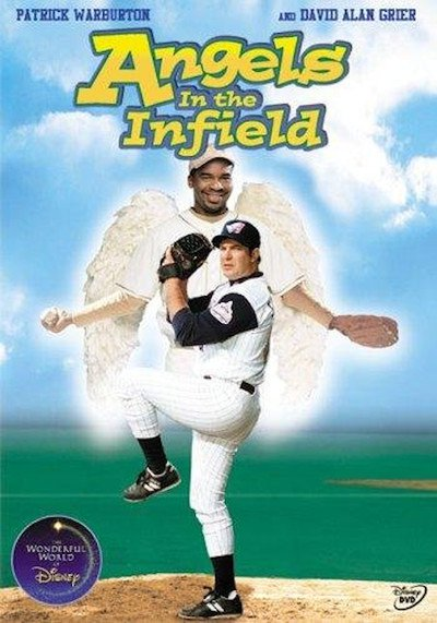 "Poster for the movie ""Angels in the Infield"""
