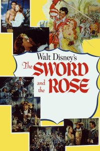 "Poster for the movie ""The Sword and the Rose"""