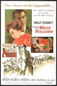 "Poster for the movie ""Miracle of the White Stallions"""