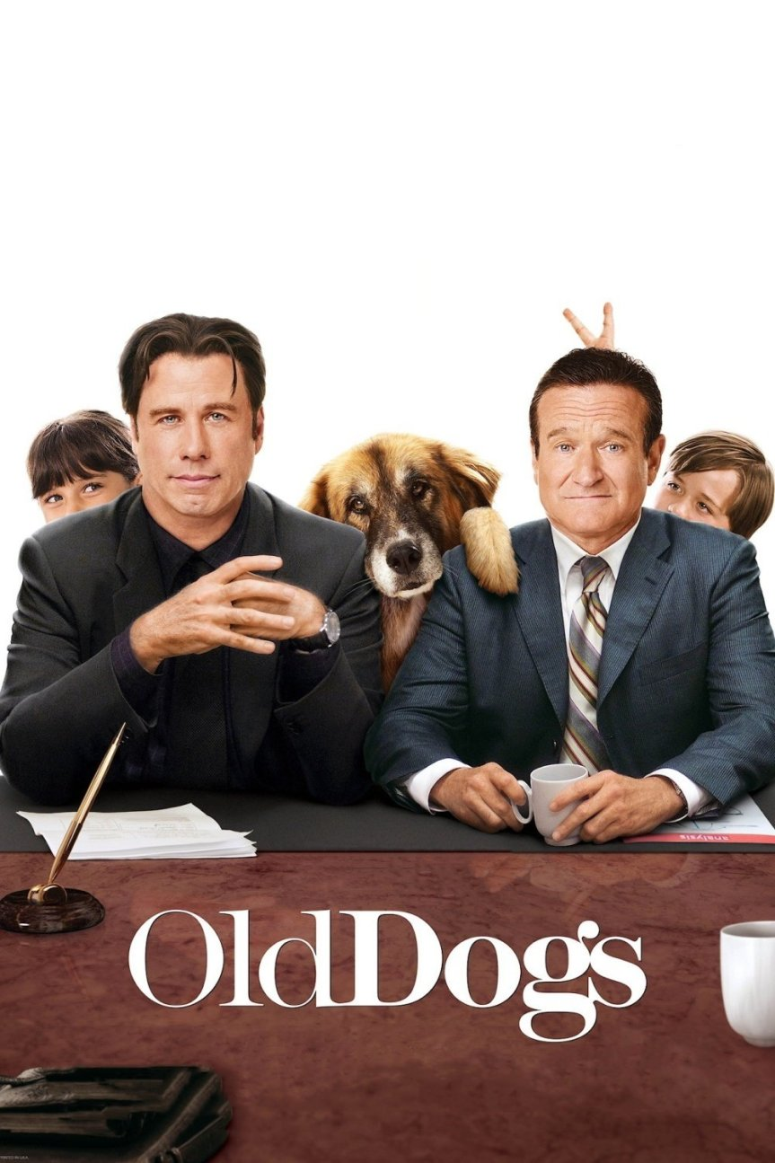 """Poster for the movie """"Old Dogs"""""""