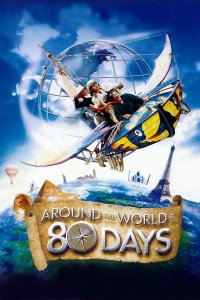 "Poster for the movie ""Around the World in 80 Days"""