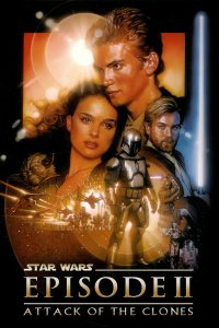 "Poster for the movie ""Star Wars: Episode II - Attack of the Clones"""