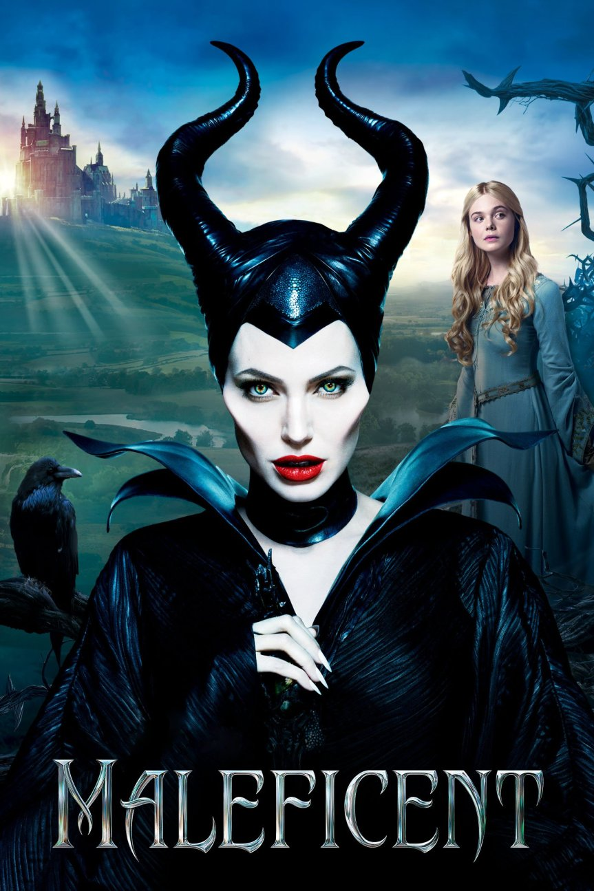 "Poster for the movie ""Maleficent"""