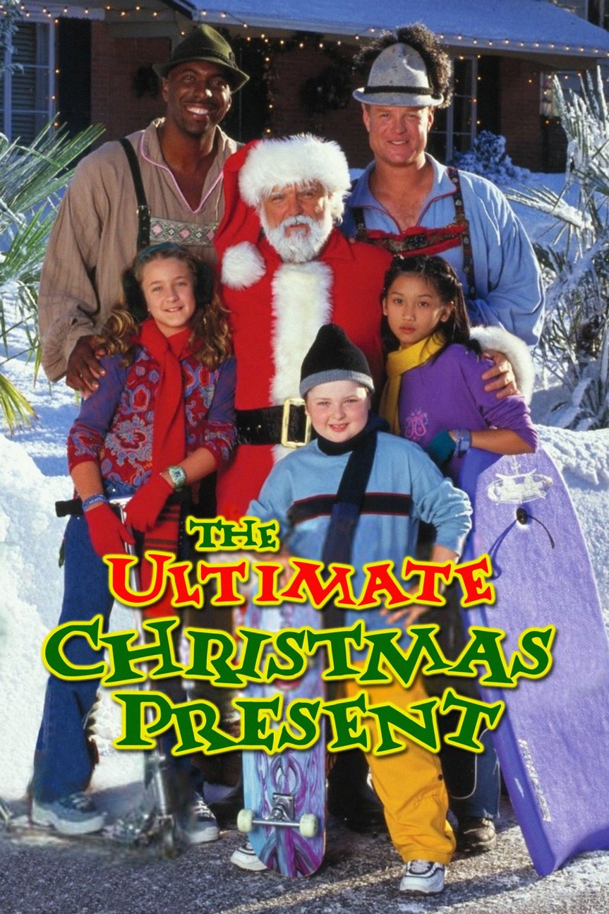 "Poster for the movie ""The Ultimate Christmas Present"""
