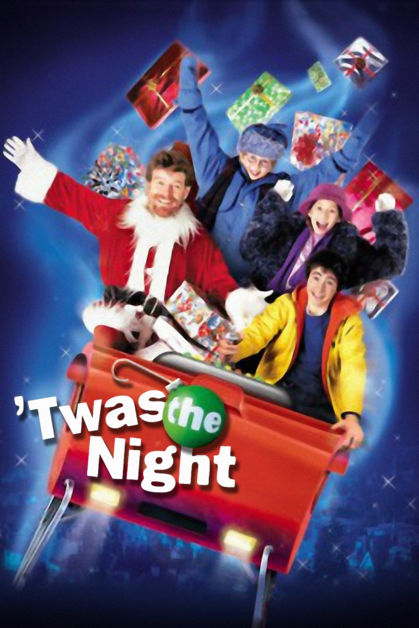 "Poster for the movie ""'Twas the Night"""
