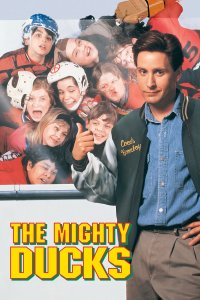"Poster for the movie ""The Mighty Ducks"""
