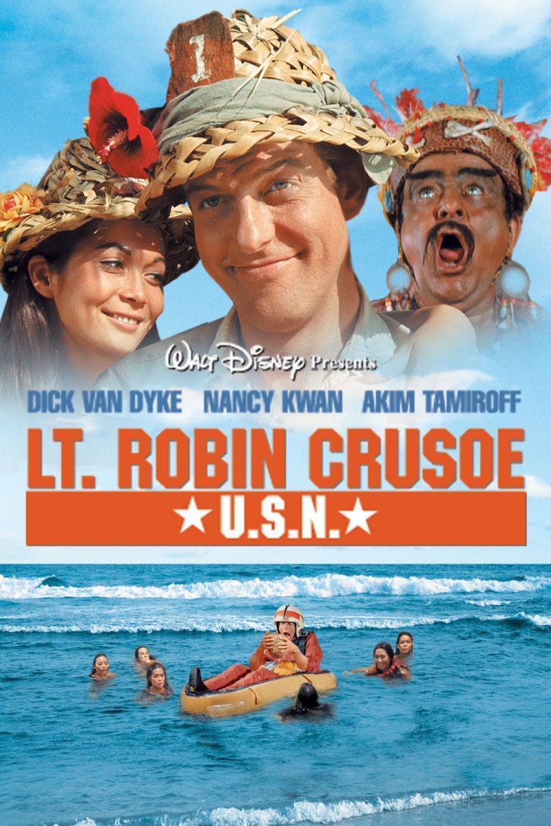 "Poster for the movie ""Lt. Robin Crusoe U.S.N."""