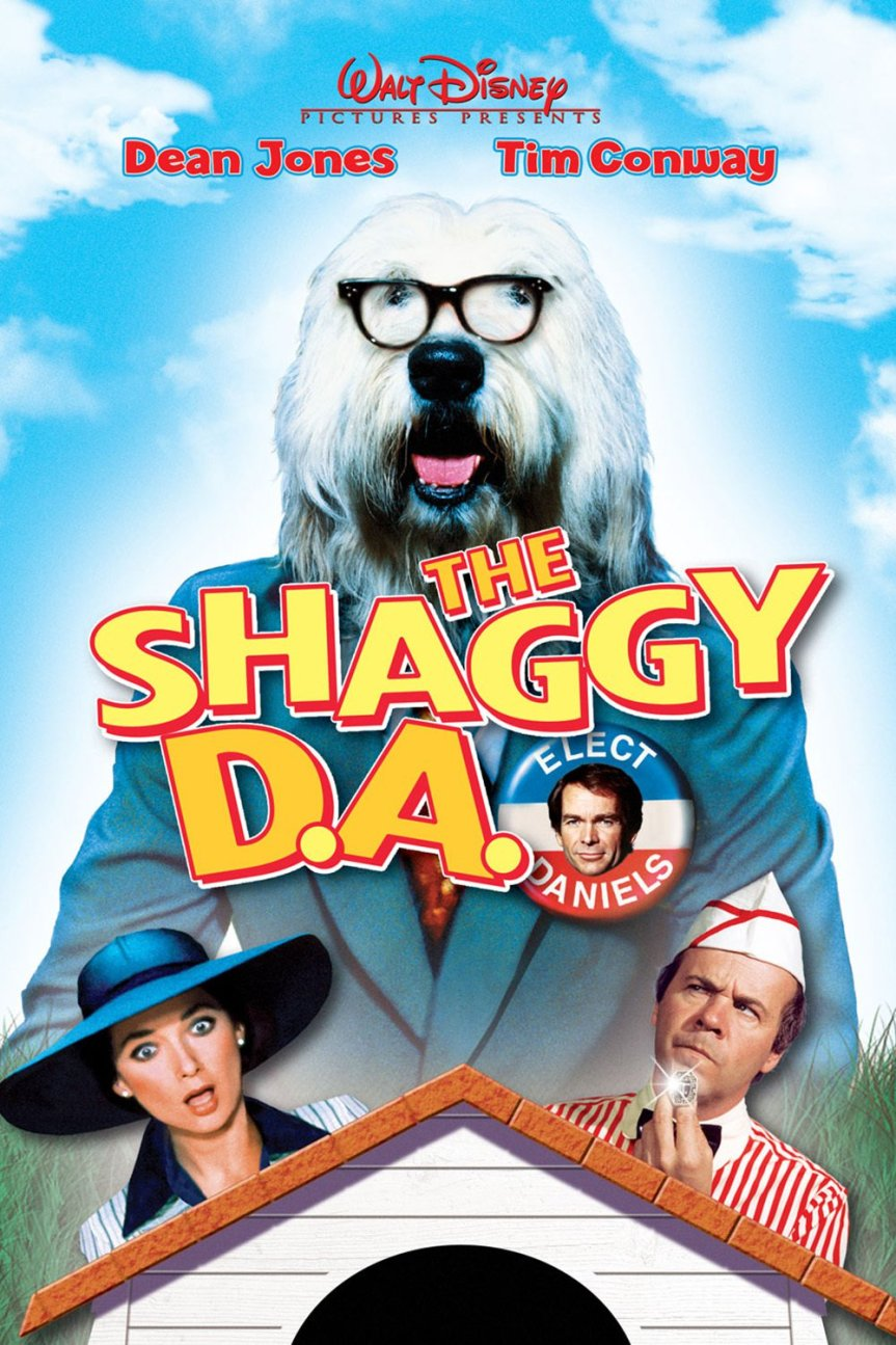 "Poster for the movie ""The Shaggy D.A."""