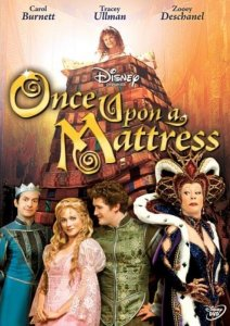 "Poster for the movie ""Once Upon A Mattress"""