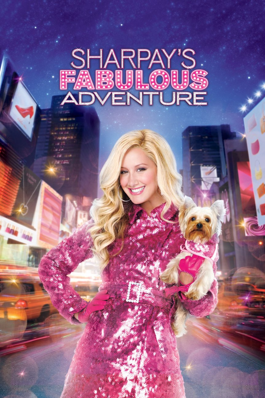"""Poster for the movie """"Sharpay's Fabulous Adventure"""""""