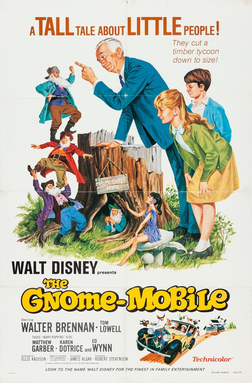 "Poster for the movie ""The Gnome-Mobile"""