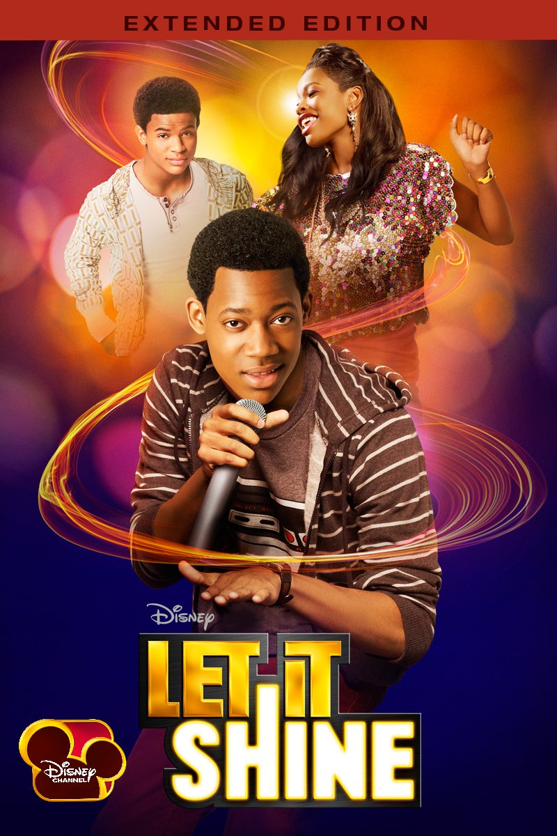 """Poster for the movie """"Let It Shine"""""""
