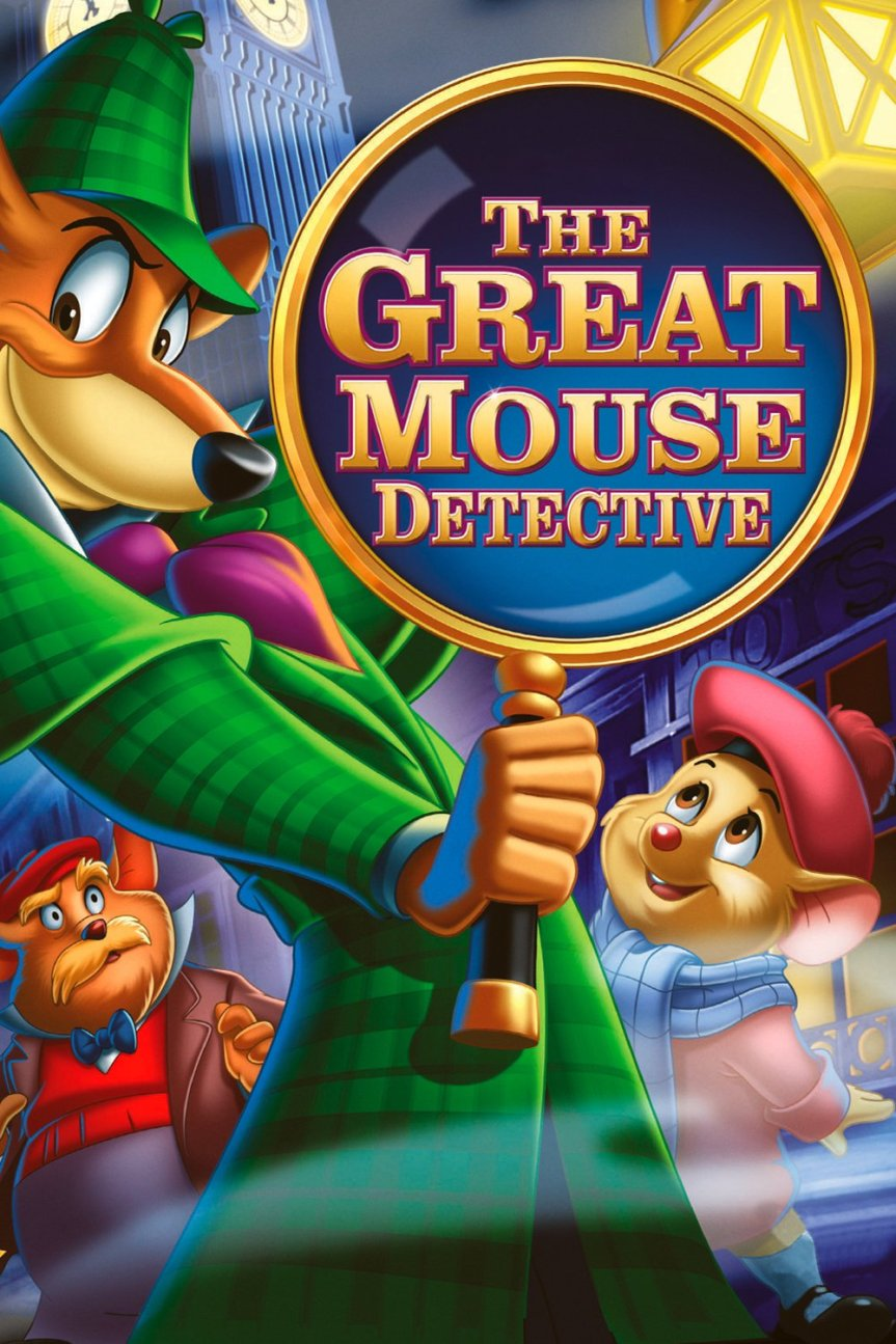 "Poster for the movie ""The Great Mouse Detective"""