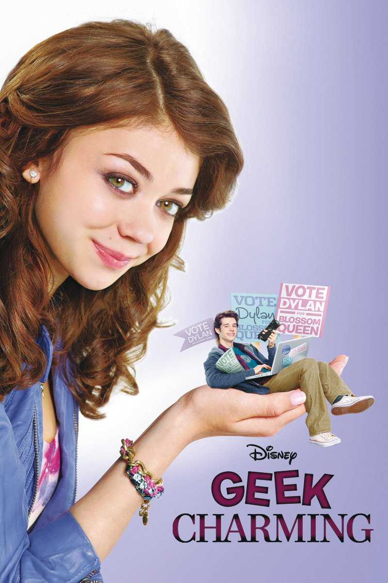 "Poster for the movie ""Geek Charming"""