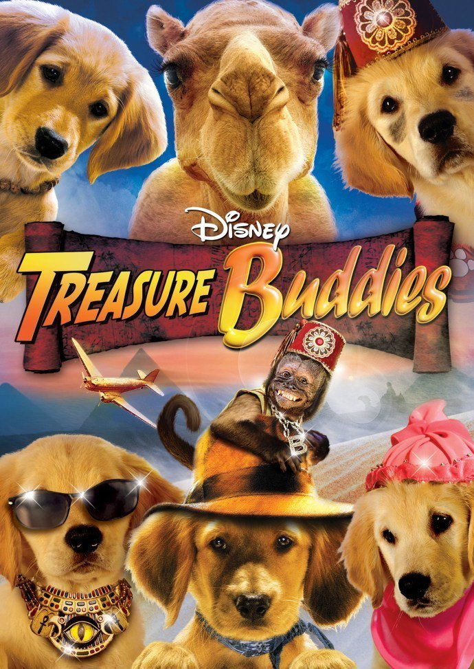 "Poster for the movie ""Treasure Buddies"""