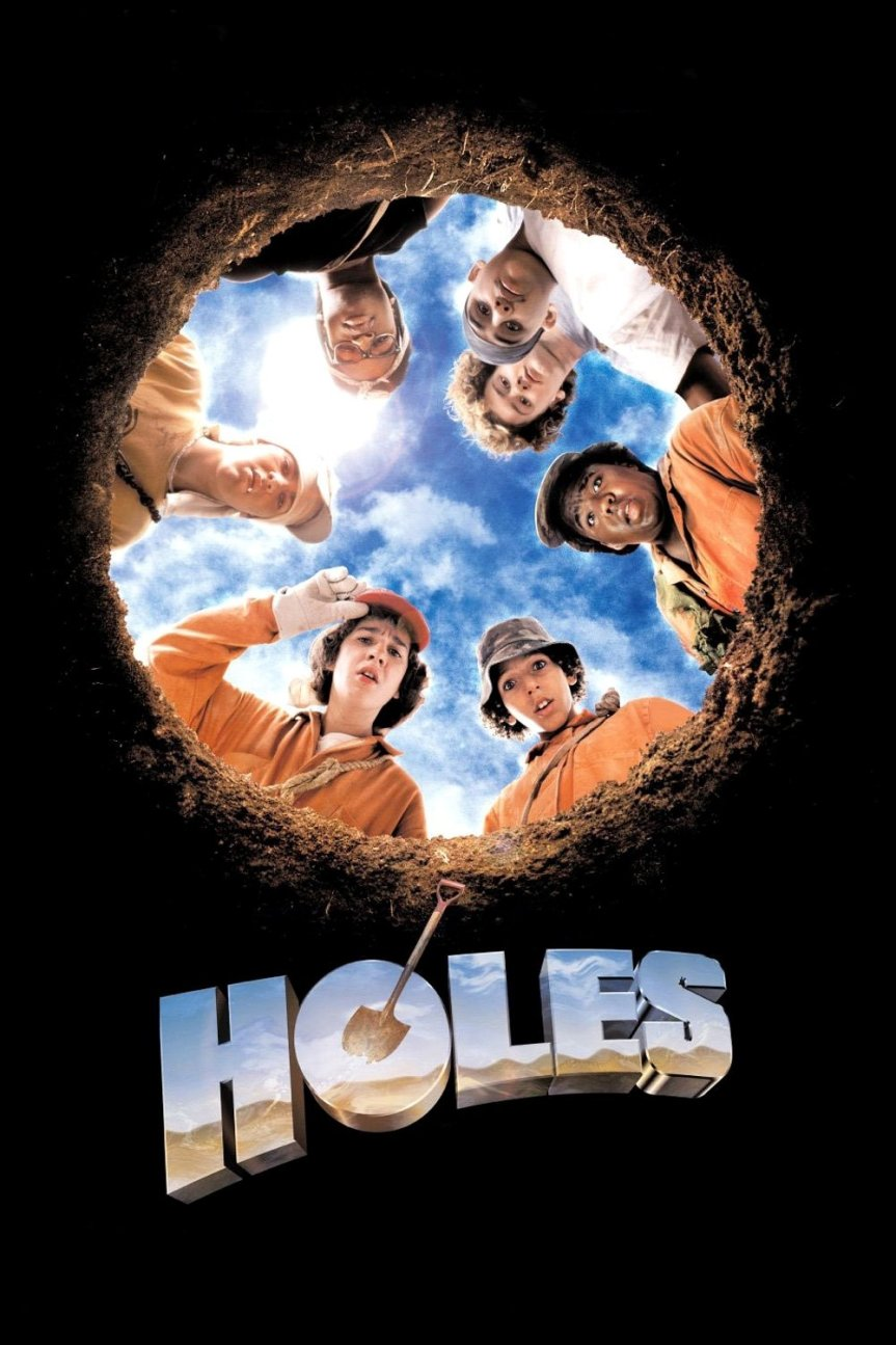 """Poster for the movie """"Holes"""""""